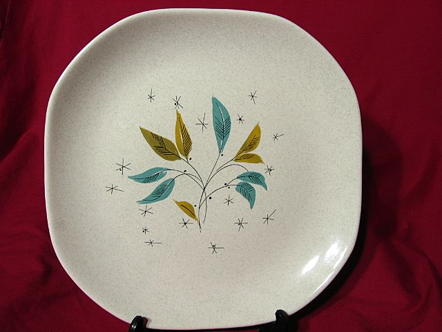Sovereign Potters Modernist Vogue Chop Plate ~ Viktor Schreckengost