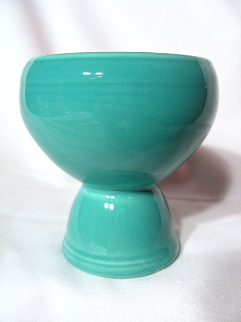 Vernon Kilns Early California Green Double Egg Cup