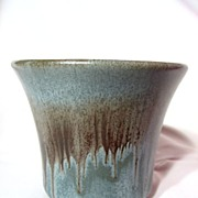 SALE Blue Mountain Pottery Slate Flower Pot