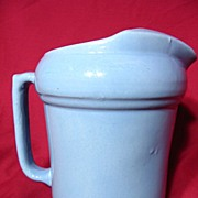 SALE Medicine Hat Pottery Ice Lip Pitcher