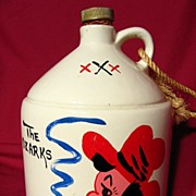 SALE Parkcraft /Taneycomo Hillbilly Souvenir Liquor Jug ~ Gallon