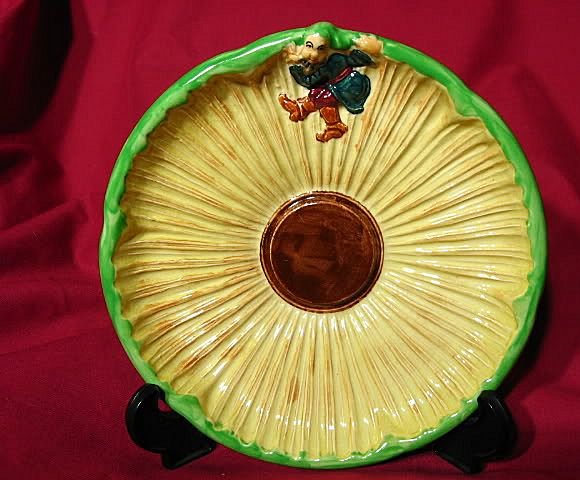 Vintage Burgess and Leigh Burleigh Ware Pixie Imp Plate