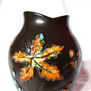B.C. Ceramics By Herta Mountain Leaves Vase