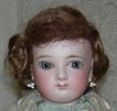 "All Original - Jumeau French Fashion Child - French Antique Doll - 14"" - Kid Body - Original Clothes - Blue Paperweight Wrap Around Eyes!!!"