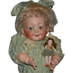 "Hertel, Schwab & Co - Googly - Antique German Doll - 16"" - Just Wonderful!!!!"
