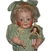 Hertel, Schwab & Co - Googly - Antique German Doll - 16&quot; - Just Wonderful!!!!