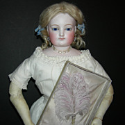 "Beautiful!! - Beautiful!! - Large 22"" - French Fashion Doll - Original Clothes!! - Antiqu"