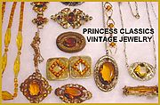 Princess Classics Antique & Vintage Costume Jewelry