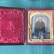 Gentleman Ambrotype in Case 1800's