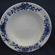 Single Flow Blue Border 9&quot; Bowl