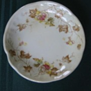 Floral China Transferware Butter Pat ( 4 ) A.J. Wilkinson