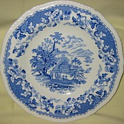REDUCED Transferware Blue and White Bowl  Seaforth