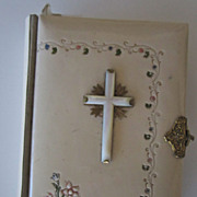 German Celluloid Prayer Book, 1884