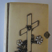 Celluloid Prayer Book, 1898, American