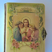 Fabulous Lithuanian Celluloid Prayer Book, 1914