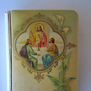 1925 Celluloid Prayer Book, Joy In Innocence