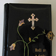 Czech Celluloid Prayer Book 1884