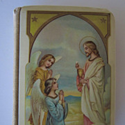 Celluloid Prayer Book 1922, First Communion