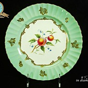 REDUCED Royal Worcester Hand Painted Artist Signed Cabinet Plates Set 8