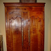 French Louis XV Provincial armoire, circa 1795 - Free shipping!