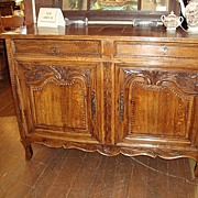 French Louis XV sideboard buffet circa 1800 - Free shipping