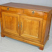 French Louis Philippe sideboard buffet circa 1840- FREE SHIPPING