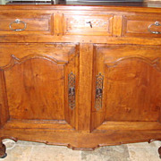 French Louis XV sideboard buffet, late 1700's FREE SHIPPING