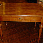 French farm table with drawer, circa 1850 - FREE SHIPPING!!!