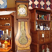 French Provincial grandfather clock, circa 1870