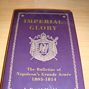 Imperial Glory (Hardcover) with original signature of the author
