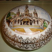 Authentic French porcelain Limoges box , Mid 1900's