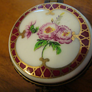 Authentic French porcelain Limoges box
