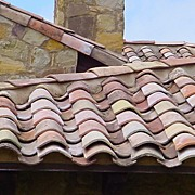 Antique ROOF TILES from France, circa 1820