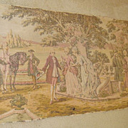 French tapestry jacquard decor Boucher, mid. 1900's