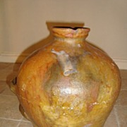 Antique French jar South France, circa 1850