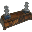 Antique Tunbridge Ware Dressing Table Box / Perfume Caddy