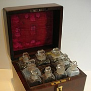 SALE Wonderful Antique Regency Mahogany Apothecary Box c.1820 / 1830