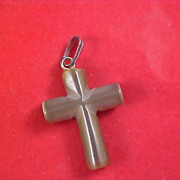 Alabaster CROSS Pendant
