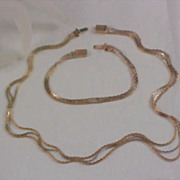 Stunning  AVON ~ Necklace and Bracelet Demi Parure