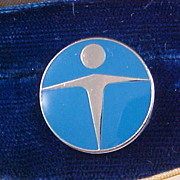 Genuine TIFFANY & Company's Manpower Pin