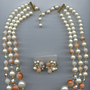 Fantastic 1950s Bead Set-a WOW Set!