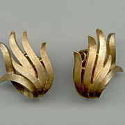 Classic 1960s Trifari Earrings