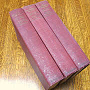 Complete 3-Volume Set: An Ambassador's Memoirs by Maurice Paleologue, 1925 (Fourth Edition)