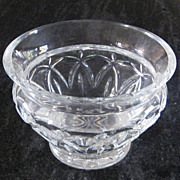 "Waterford Crystal Candy Dish Bowl Glenbrook Pattern 6"" Ireland"