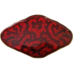 Vintage Sterling Enamel Norway O.F. Hjortdahl Brooch Pin Red