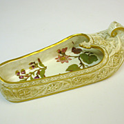 Antique Royal Worcester  porcelain figural Turkish SHOE