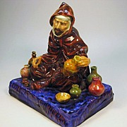 "Large early version Royal Doulton ""The Potter"" figure HN1493"