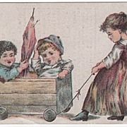 Dr. Thomas' Eclectric Oil Trade Card
