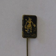 Franco Suisse Advertising Stickpin - Lady in Dutch Garb