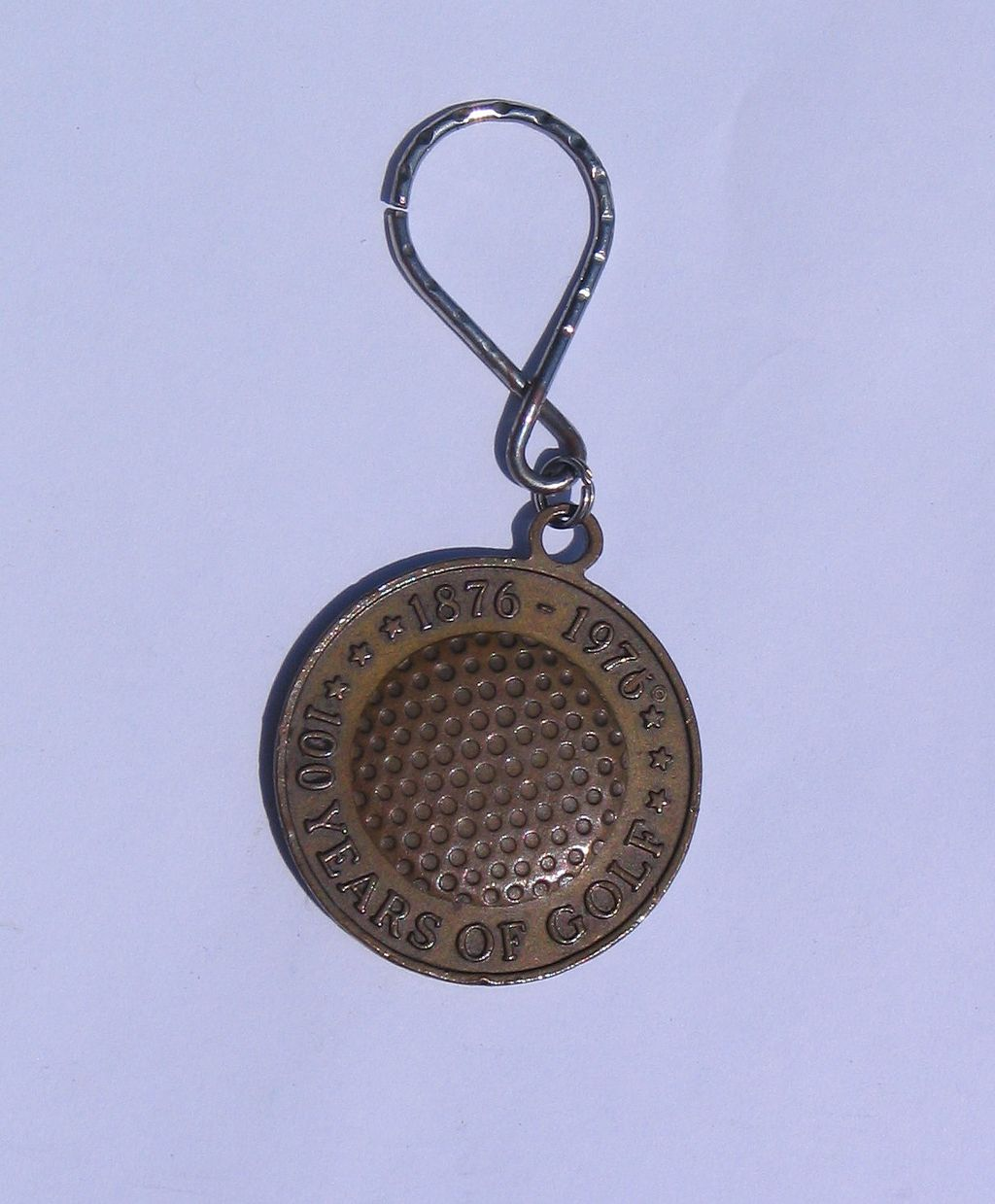 Royal Master 100 Years of Golf Charm or Fob